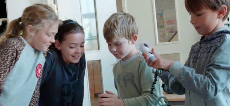 VR i 3 klasse på Maglegårdsskolen i Gentofte