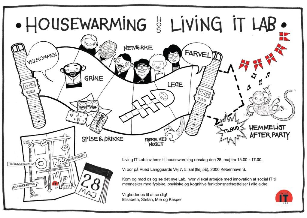Living IT Lab  Housewarming