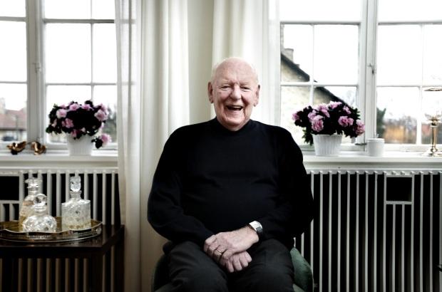 Tidligere minister Palle Simonsen i sit hjem i Hellerup